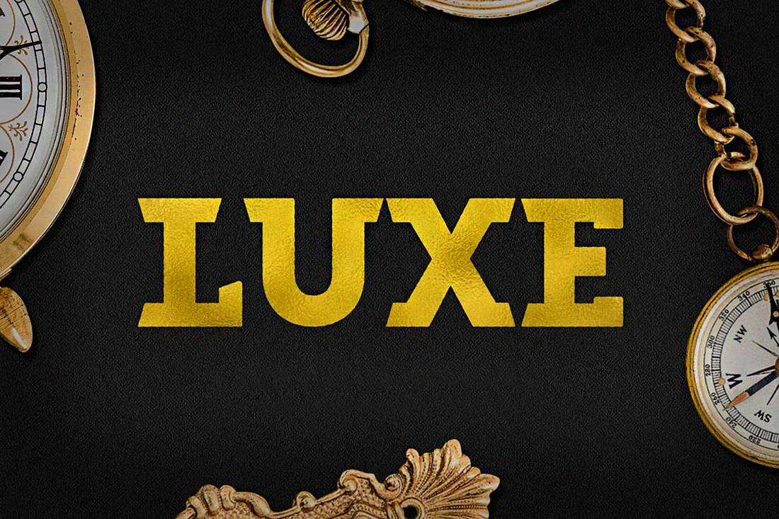 Luxe-Bold-Luxury-Font 30+ Best Fonts for Signs design tips  Inspiration
