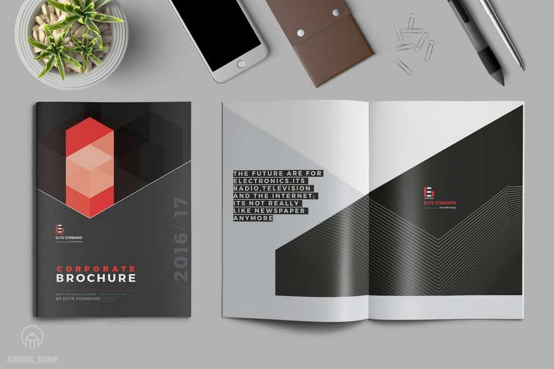 Luxury Brand & Corporate Brochure Template
