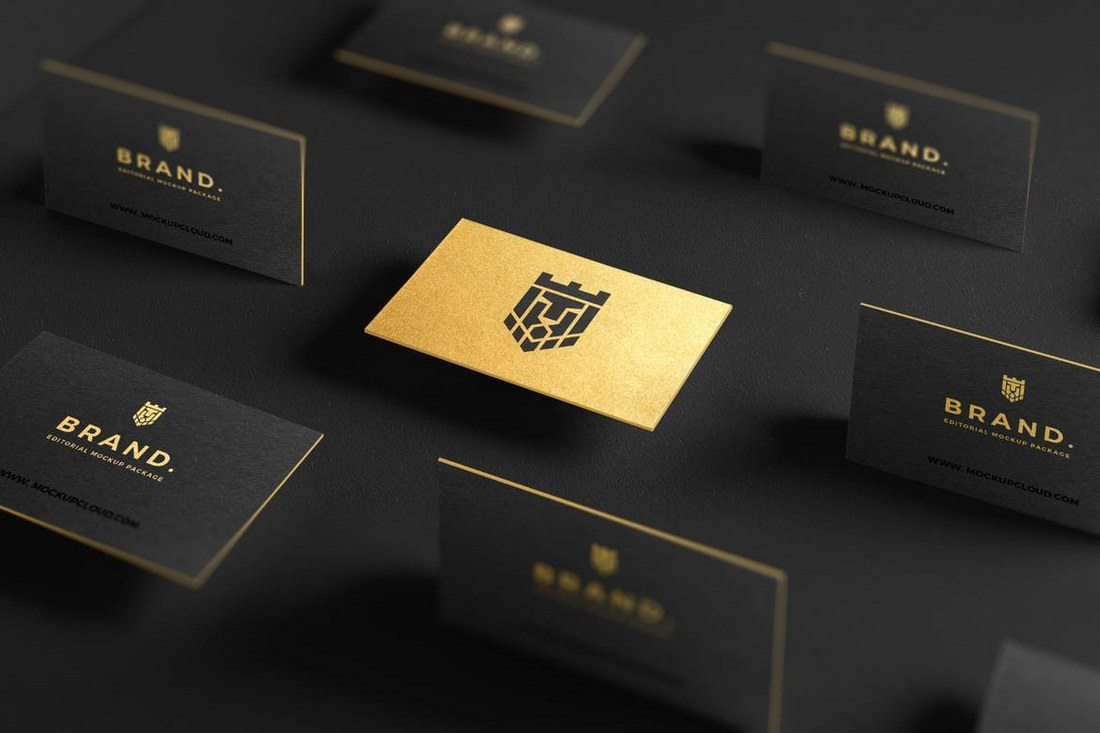 70 corporate creative business card mockups design shack if youre working on a luxury or a dark themed business card design this mockup is perfect for you this business card template allows you to change colors reheart