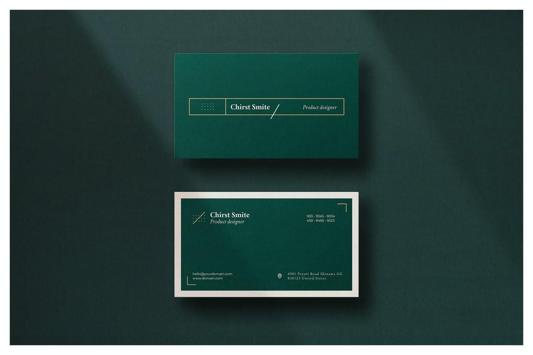 Luxury Minimal Business Card Design