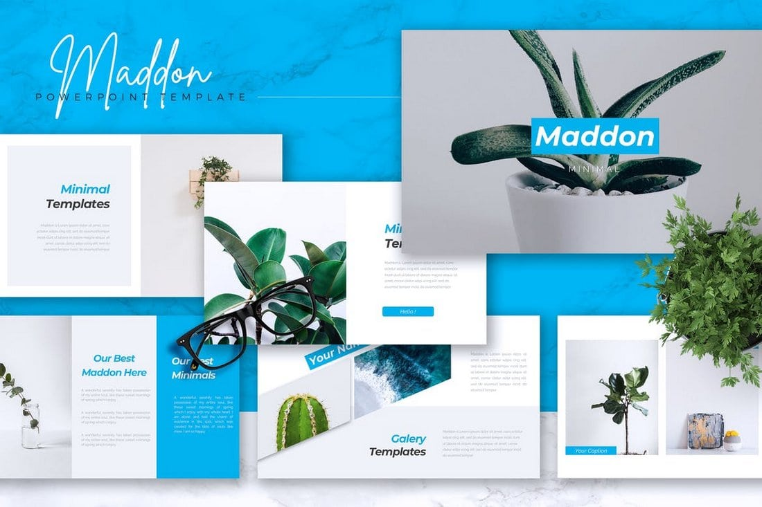 MADDON - Company Profile Powerpoint Template