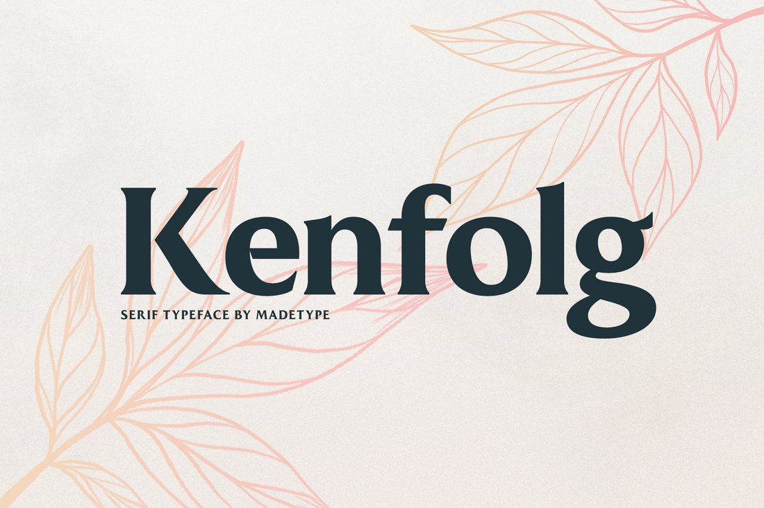 MADE Kenfolg - Free Serif Display Font