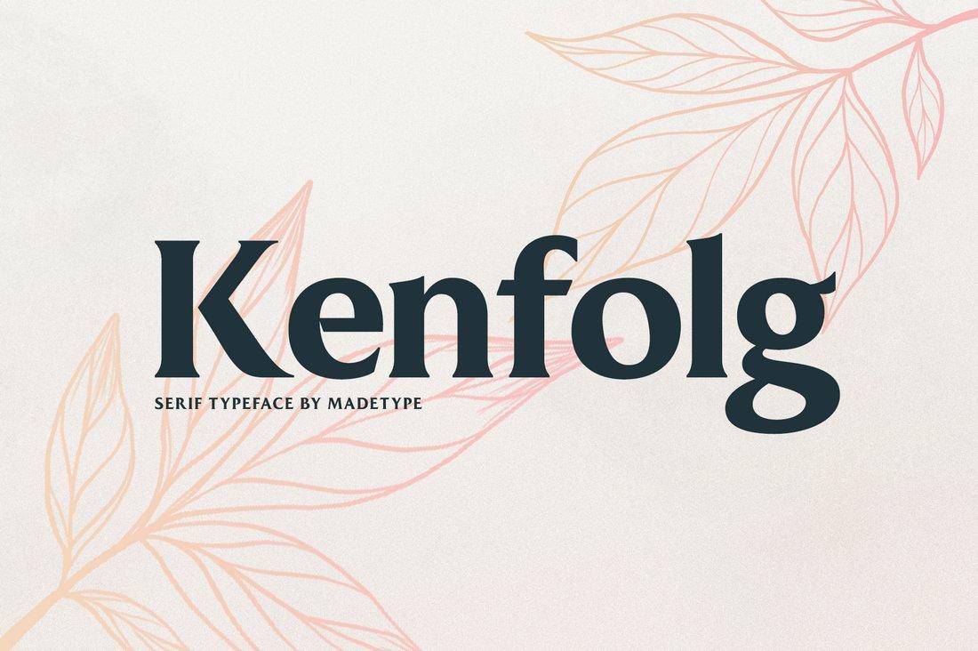 MADE Kenfolg - Free Serif Display Font