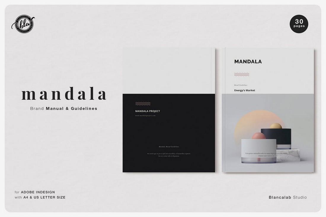 MANDALA - Brand Manual & Guidelines Template