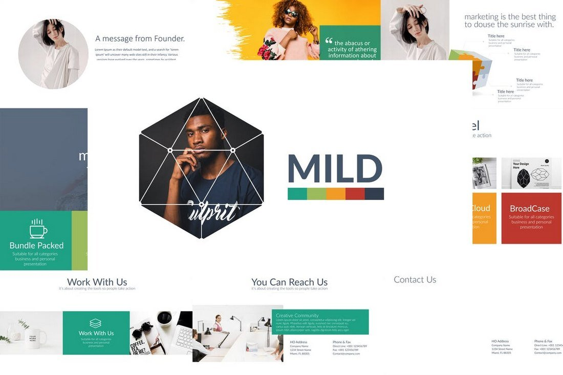 20 best cool powerpoint templates design shack