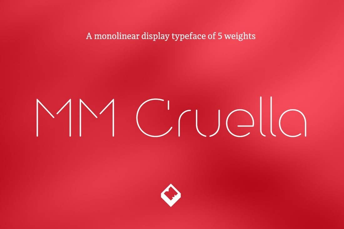 MM Cruella - Luxury Display Font