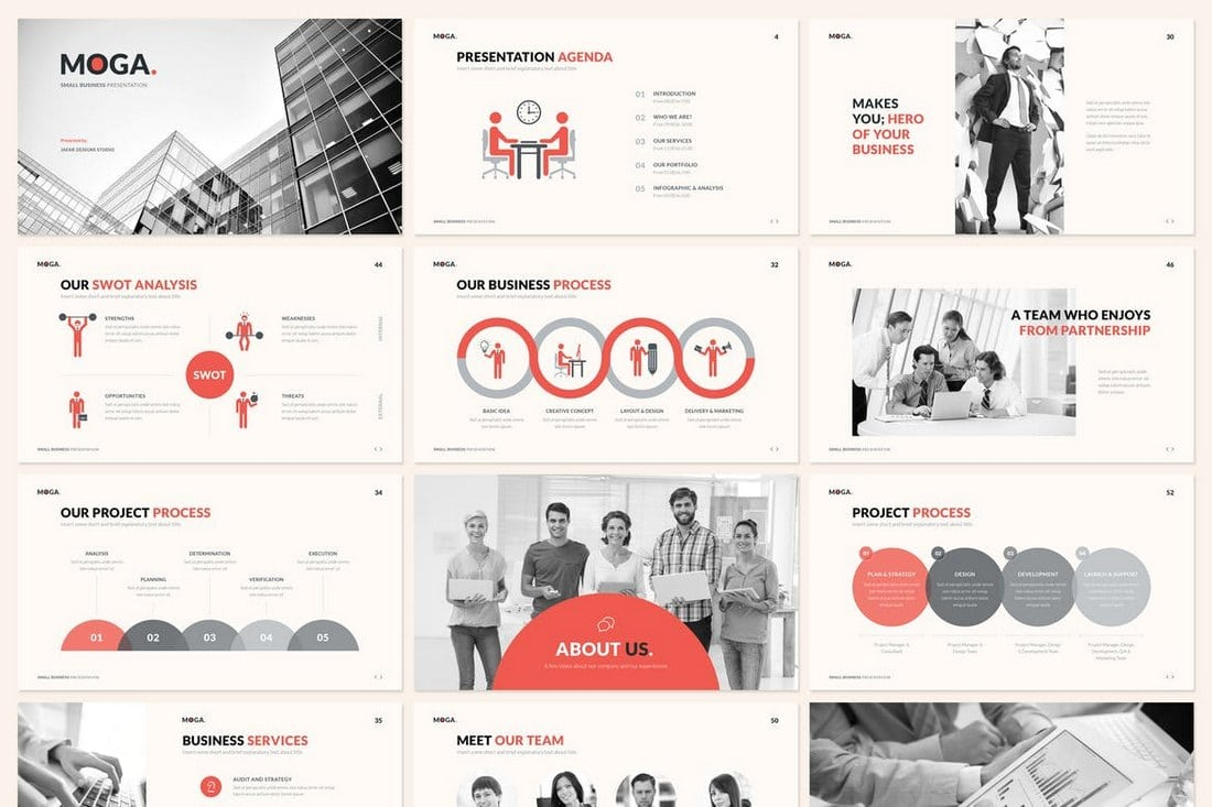 MOGA.-Small-Business-Presentation-Google-Slides 35+ Best Google Slides Themes & Templates 2019 design tips
