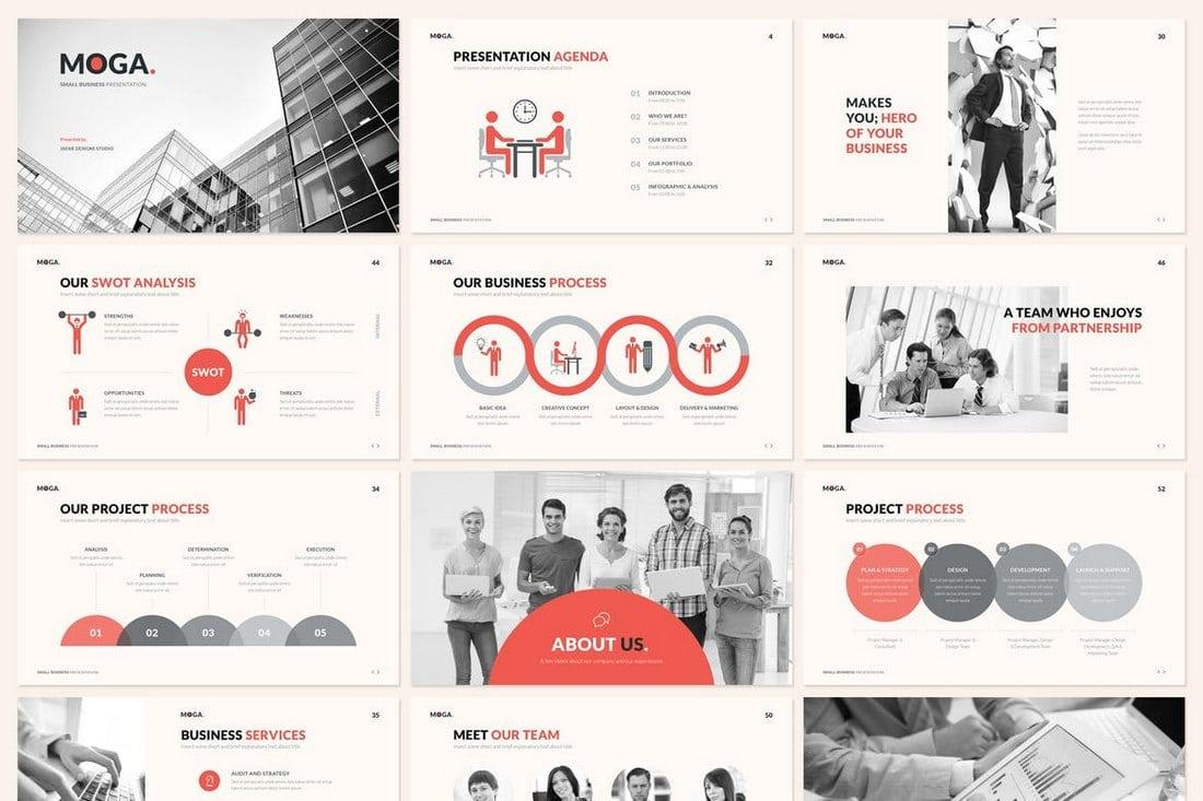 MOGA.-Small-Business-Presentation-Google-Slides 30+ Best Google Slides Themes & Templates 2018 design tips