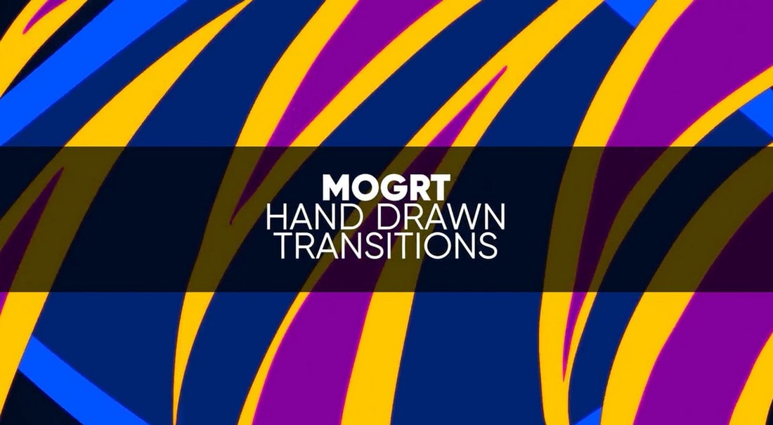 MOGRT - Hand Drawn Transitions