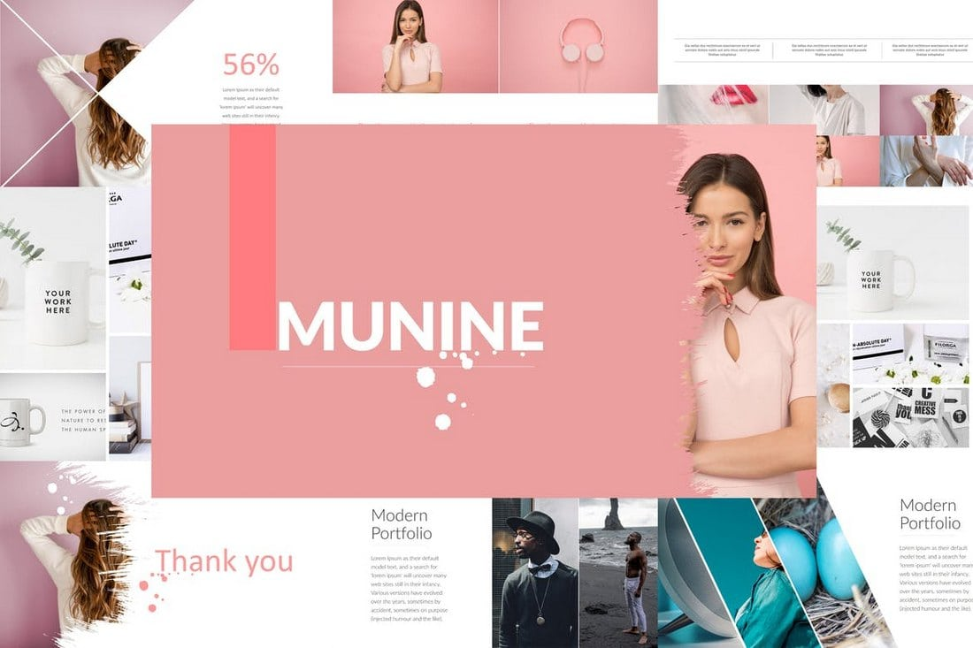 MUNINE-Powerpoint-Template 20+ Modern Professional PowerPoint Templates design tips