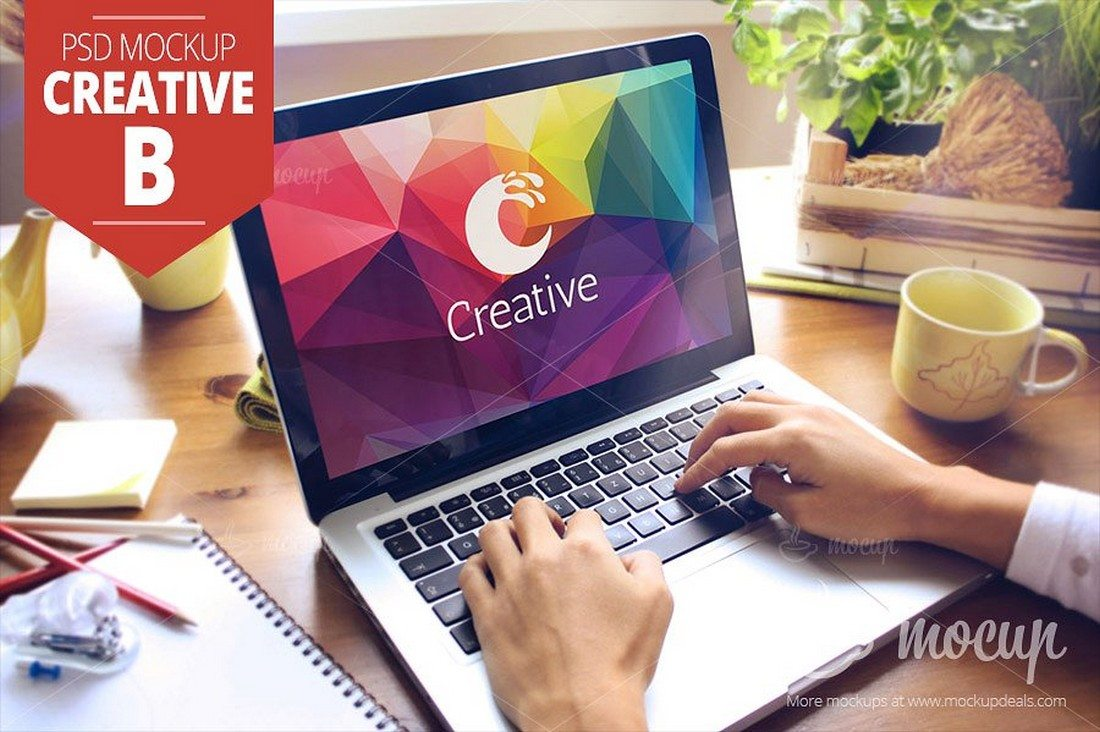 MacBook-PSD-Mockup-Creative 100+ MacBook Mockup Templates (PSD & Vector) design tips