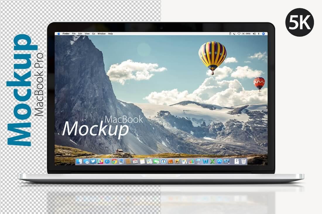 MacBook-Pro-Front-Mockup 100+ MacBook Mockup Templates (PSD & Vector) design tips