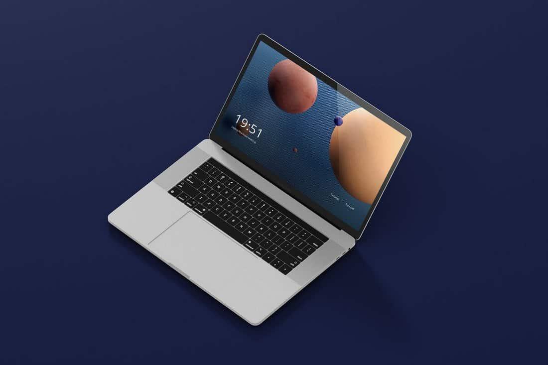 MacBook Pro Laptop Screen Mockup