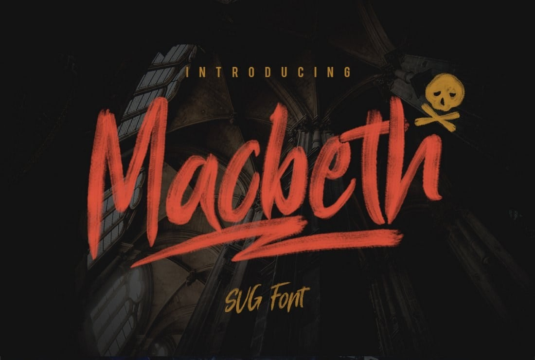 Macbeth-Free-SVG-Font 60+ Best Free Fonts for Designers 2019 (Serif, Script & Sans Serif) design tips