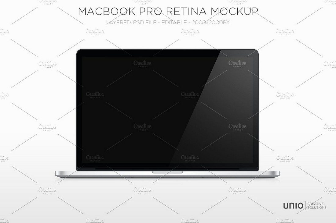 Macbook-Pro-Retina-Mockup 100+ MacBook Mockup Templates (PSD & Vector) design tips