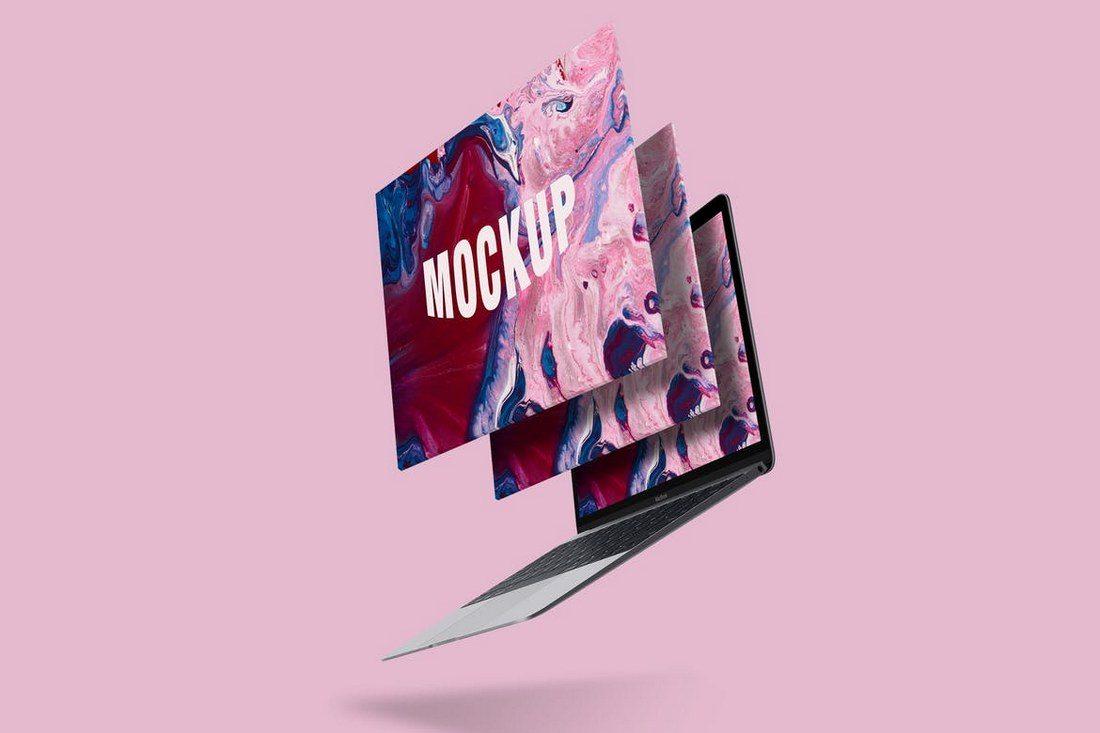 Macbook-Pro-Screen-Mockup-1 20+ Best Responsive Website & App Mockup Templates design tips