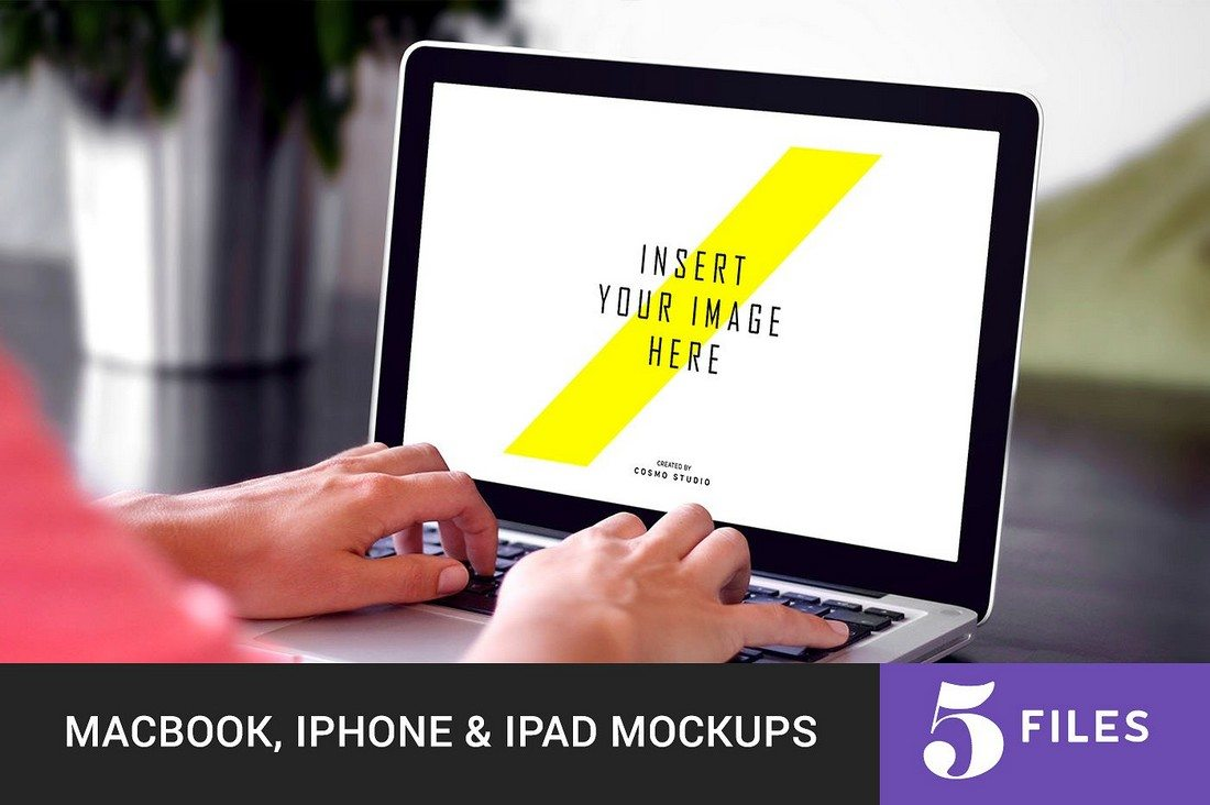 Macbook-iPhone-iPad-Mockups 100+ MacBook Mockup Templates (PSD & Vector) design tips