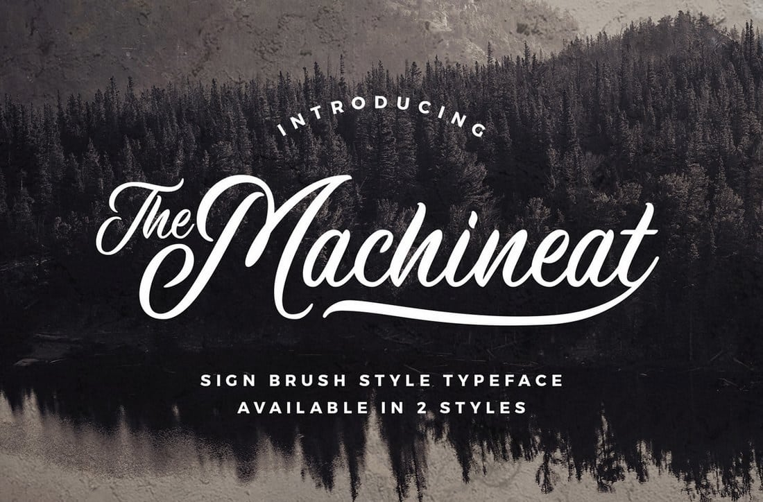 Machineat-Script-Font 60+ Best Free Fonts for Designers 2019 (Serif, Script & Sans Serif) design tips
