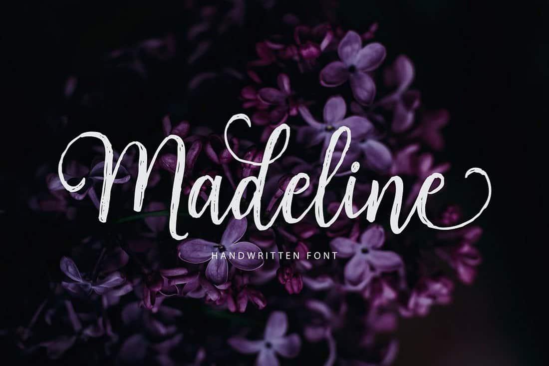 Madeline - Handwritten Font