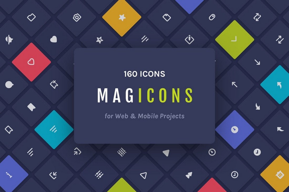 Magicons-160-Icons-for-Web-Mobile 20+ Best Affinity Designer Templates & Assets 2020 design tips  Inspiration