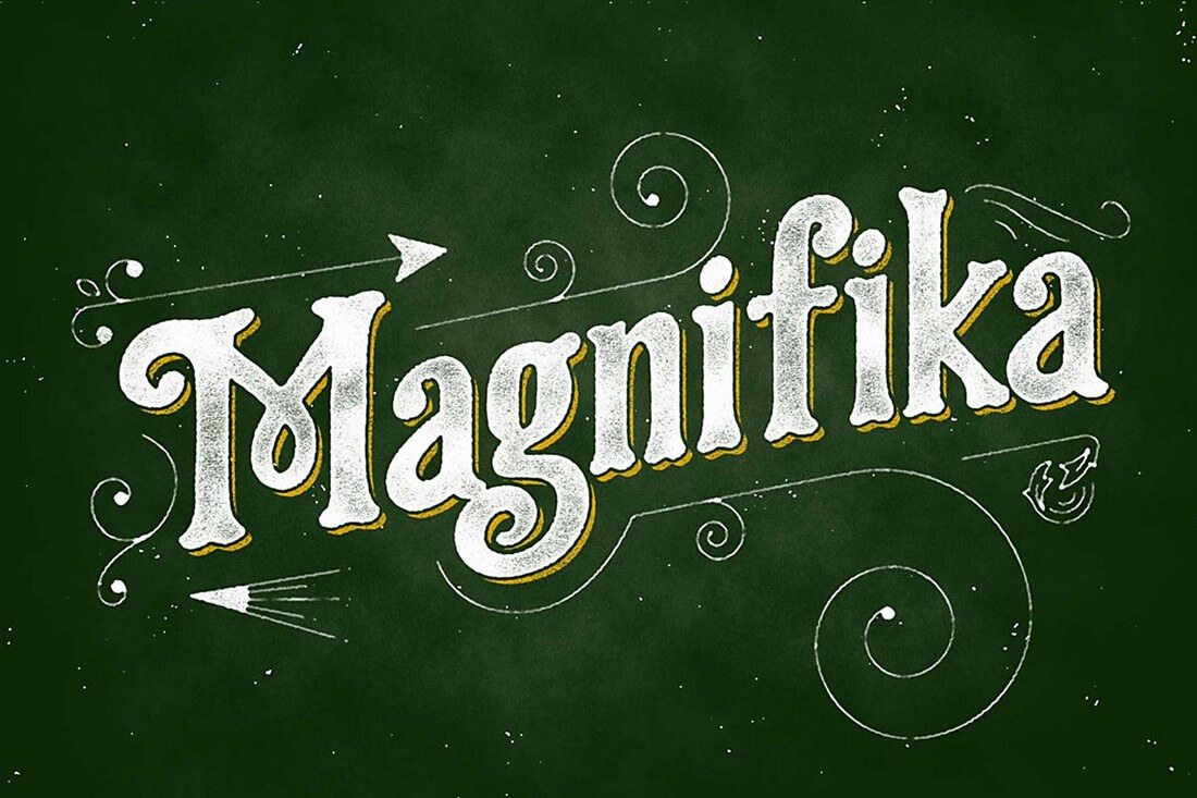 Magnifika 60+ Best Big, Poster Fonts of 2019 design tips
