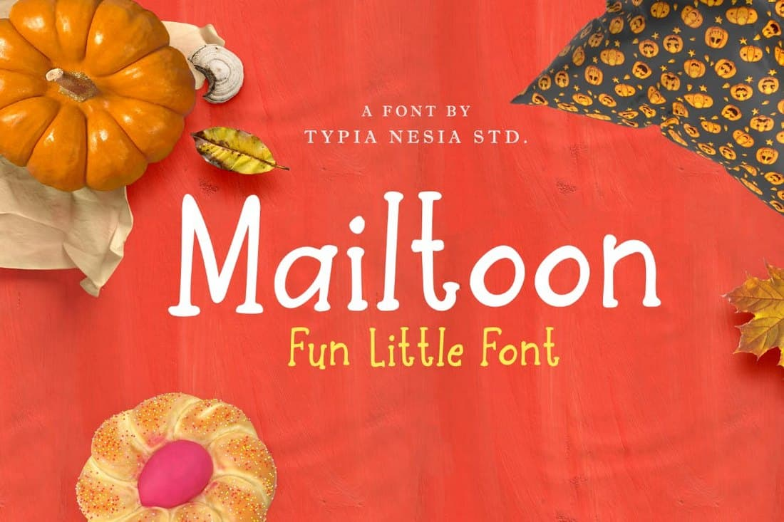 Mailtoon - Fun Serif Font