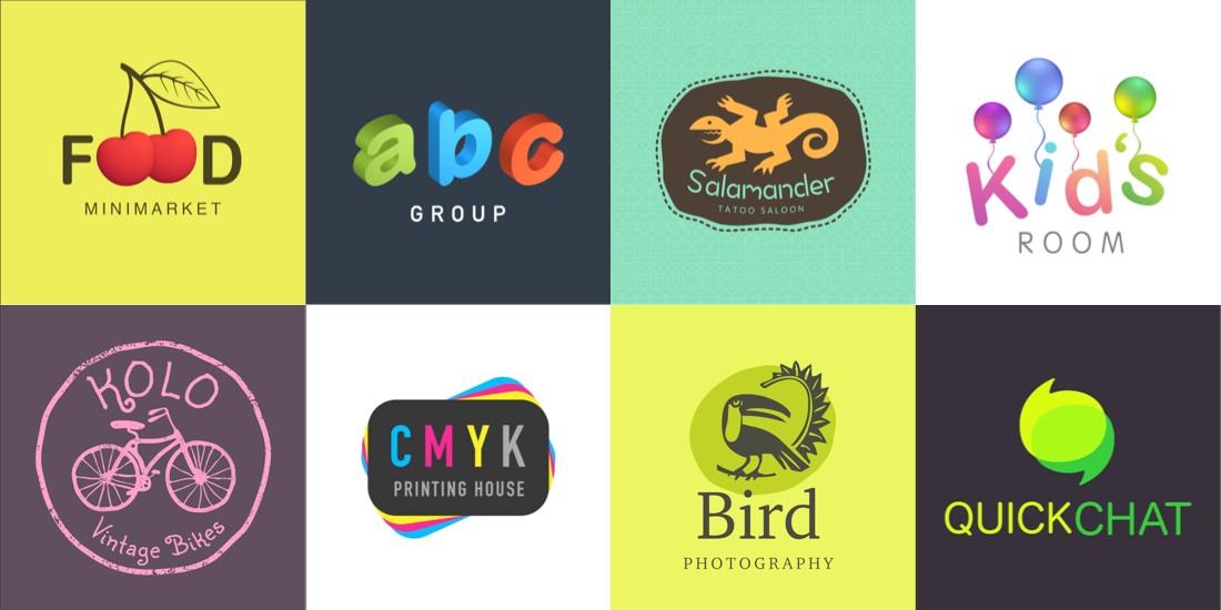 art text logos