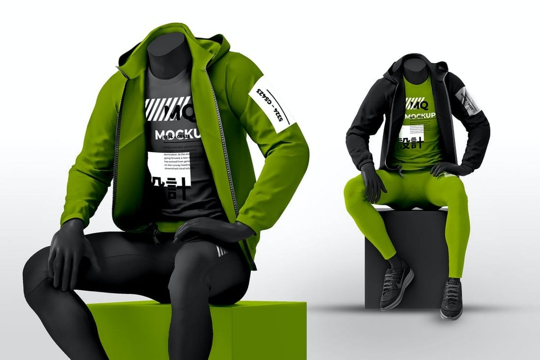 Male-Mannequin-with-Hoodie-Mockups 20+ Hoodie Mockup Templates (Free & Premium) design tips  Inspiration