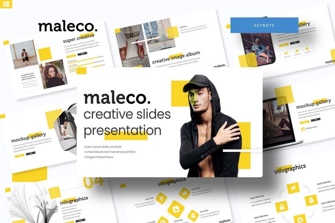 Maleco - Modern Keynote Template