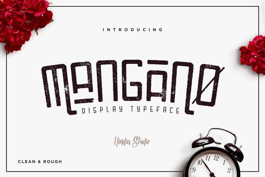Mangano-1 30+ Best Modern & Futuristic Fonts 2021 design tips