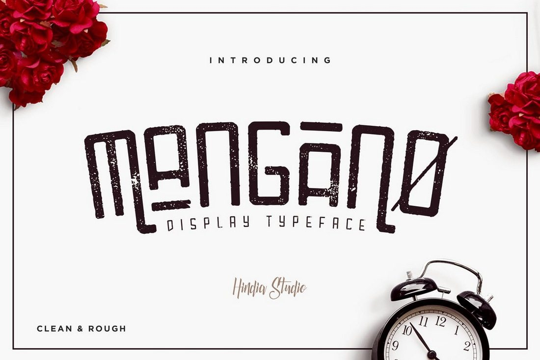 Mangano 50+ Best Condensed & Narrow Fonts of 2020 design tips