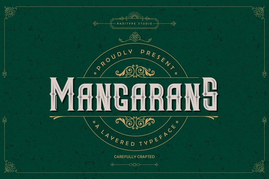 Mangarans-Free-Gothic-Font 40+ Best Gothic Fonts design tips