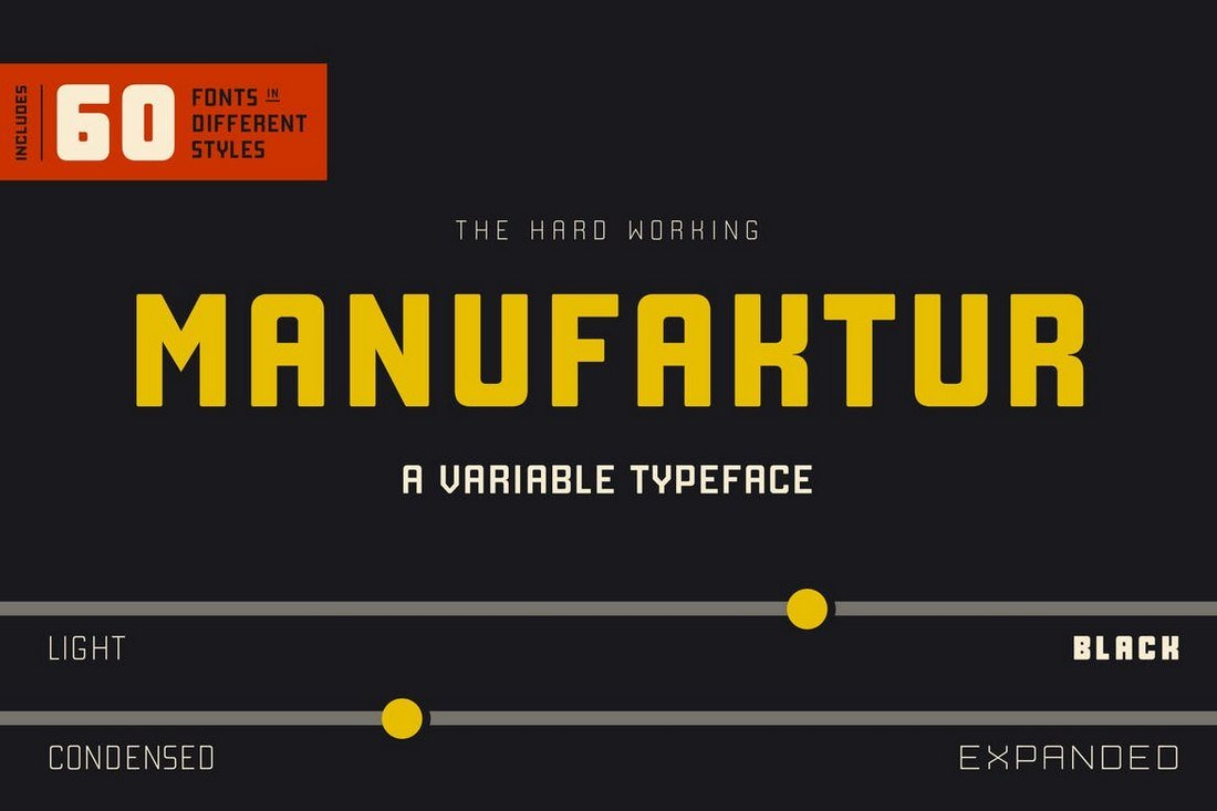 Manufaktur-Font-Family 40+ Best Condensed & Narrow Fonts of 2019 design tips