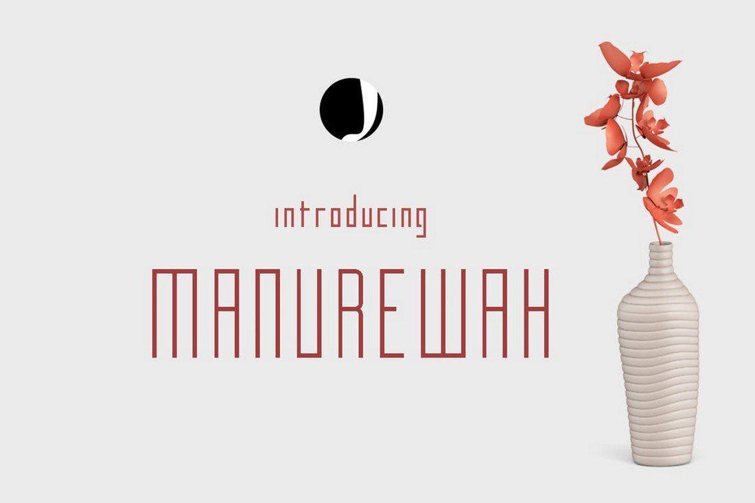 Manurewah 30+ Best Modern & Futuristic Fonts 2021 design tips