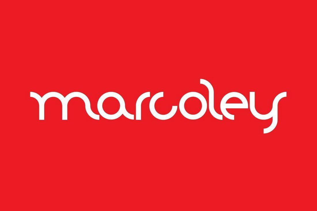 Marcoley 30+ Best Modern & Futuristic Fonts 2021 design tips