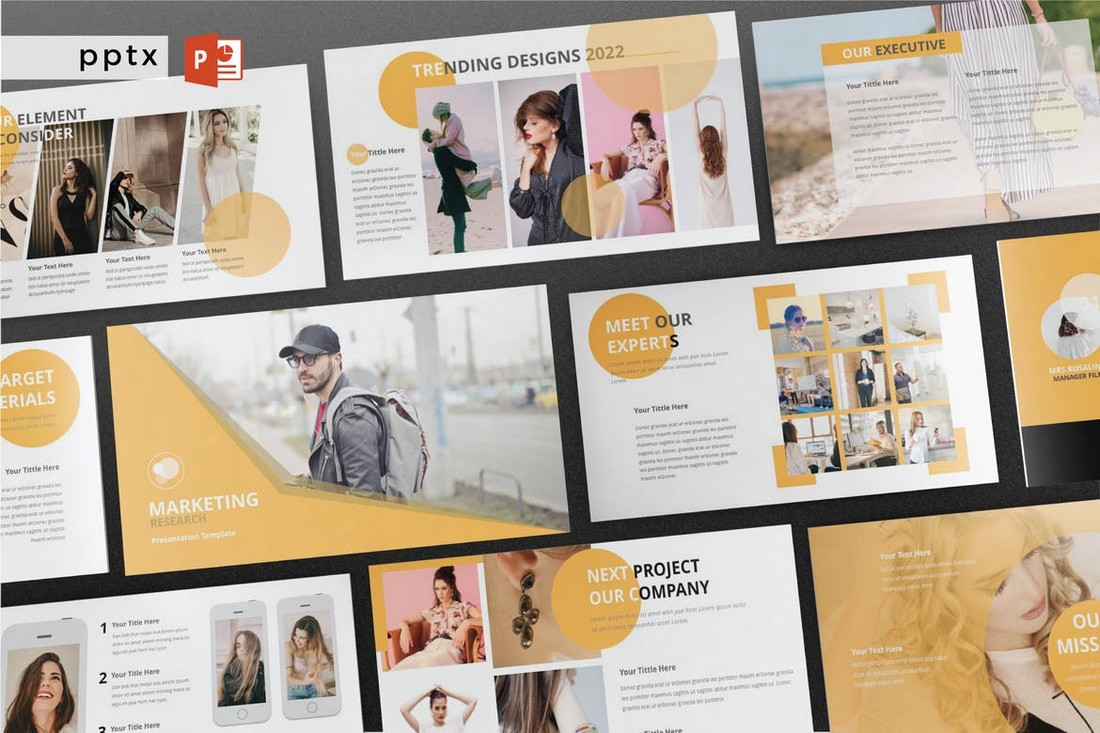 Marketing Research PowerPoint Template