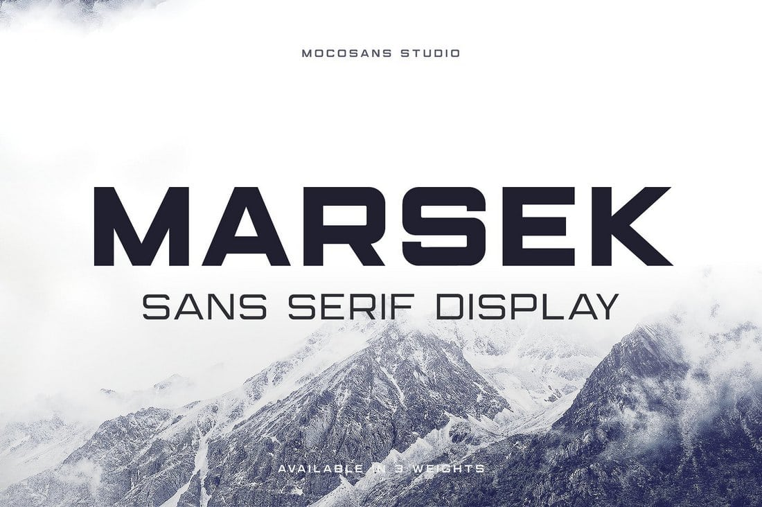 Marsek-Display-Sans-Serif 60+ Best Free Fonts for Designers 2019 (Serif, Script & Sans Serif) design tips
