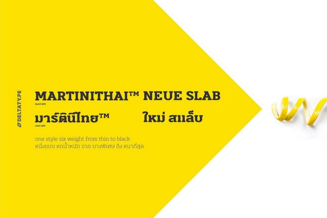 MartiniThai-Neue-Slab 50+ Best Slab Serif Fonts of 2019 design tips