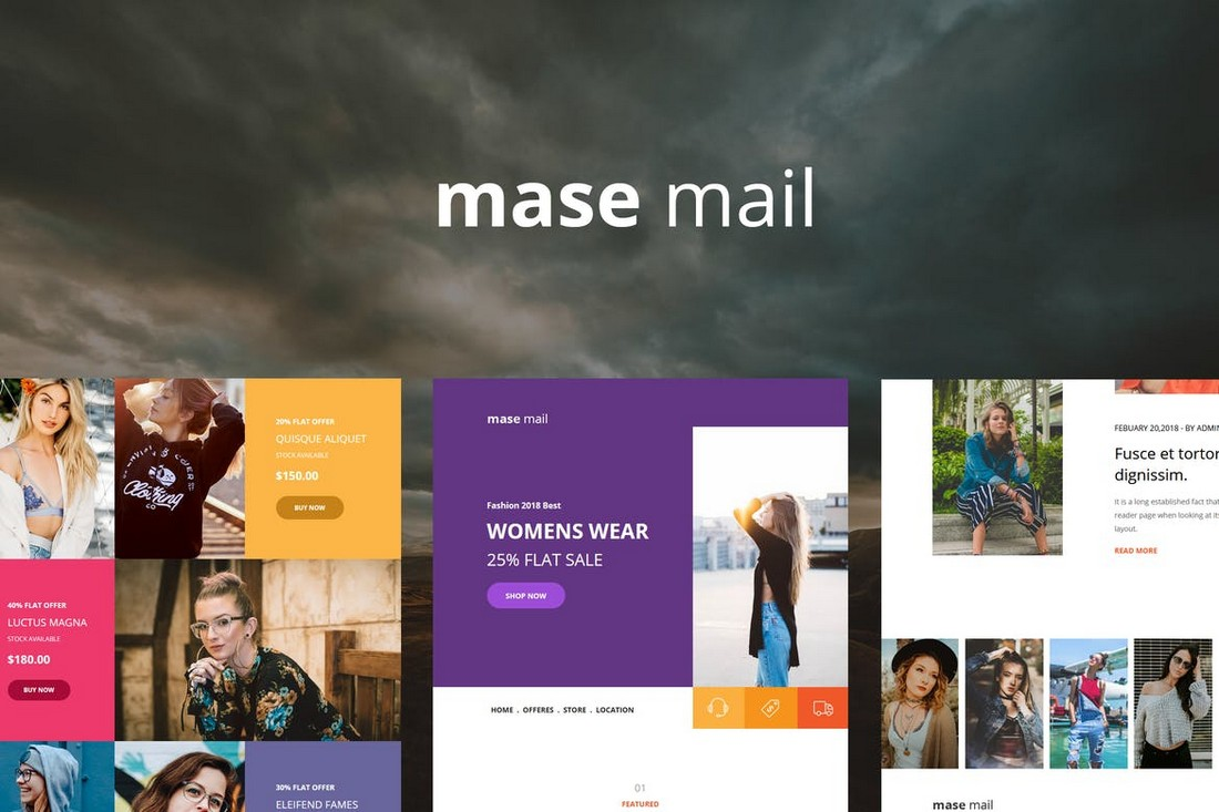 Mase-Mail-Responsive-E-mail-Template 40+ Modern Responsive Email Templates 2021 design tips
