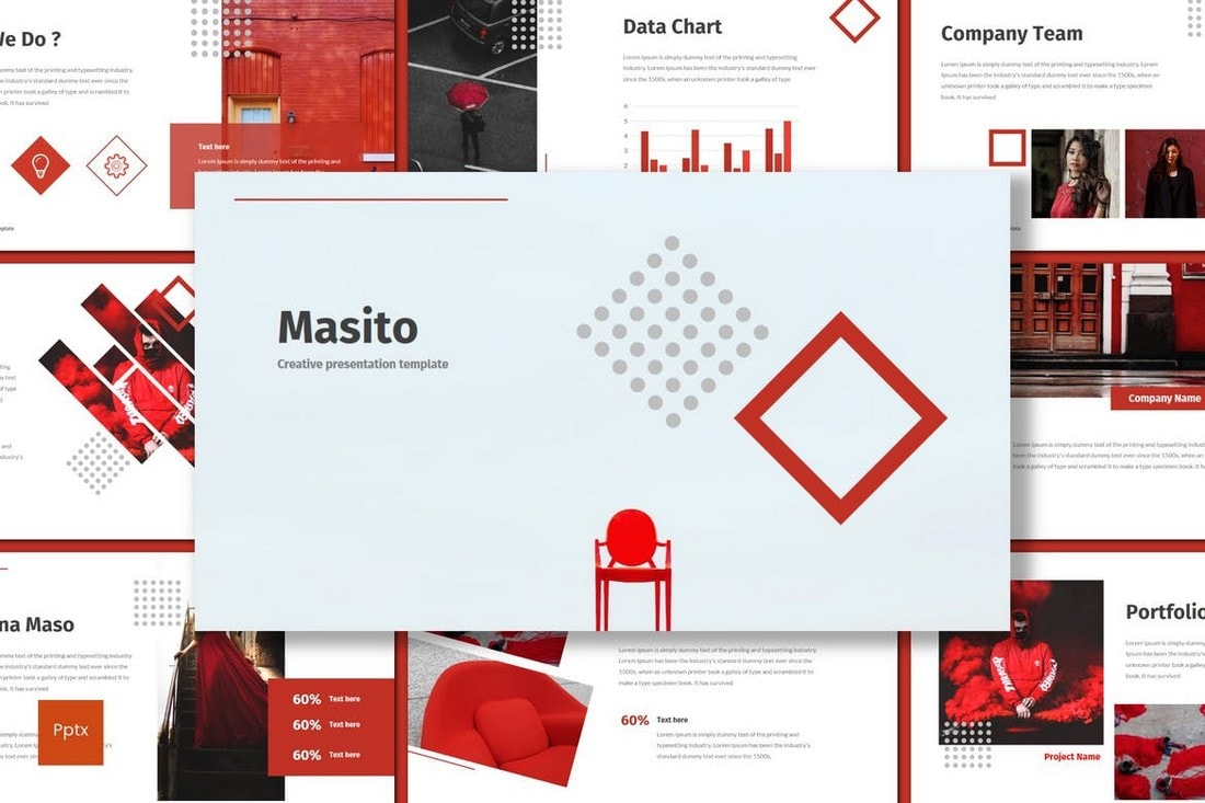 Masito - Clean Powerpoint Template