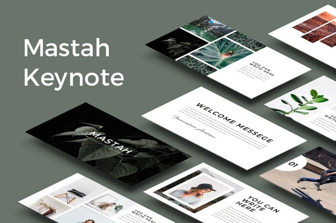 30 Best Minimal Creative Keynote Templates Design Shack