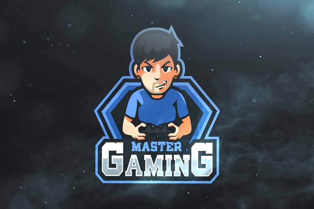 Master Gaming - Streamer Logo Template