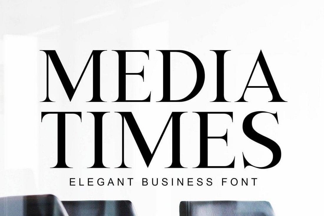 Media Times - Elegant Business Font