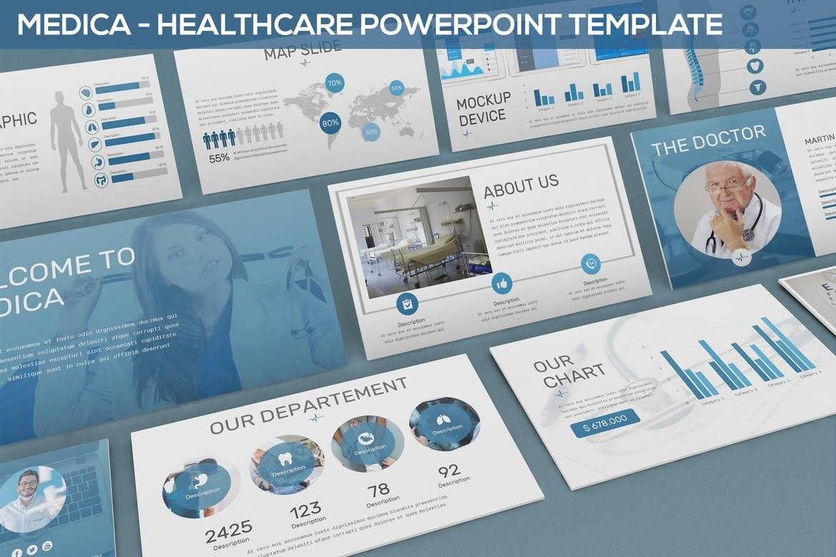 Medica - Healthcare Powerpoint Template