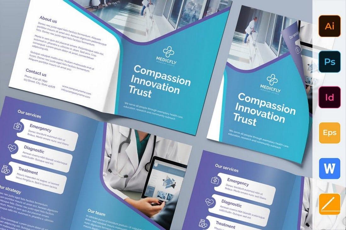 Medical Clinic Bi-Fold Brochure
