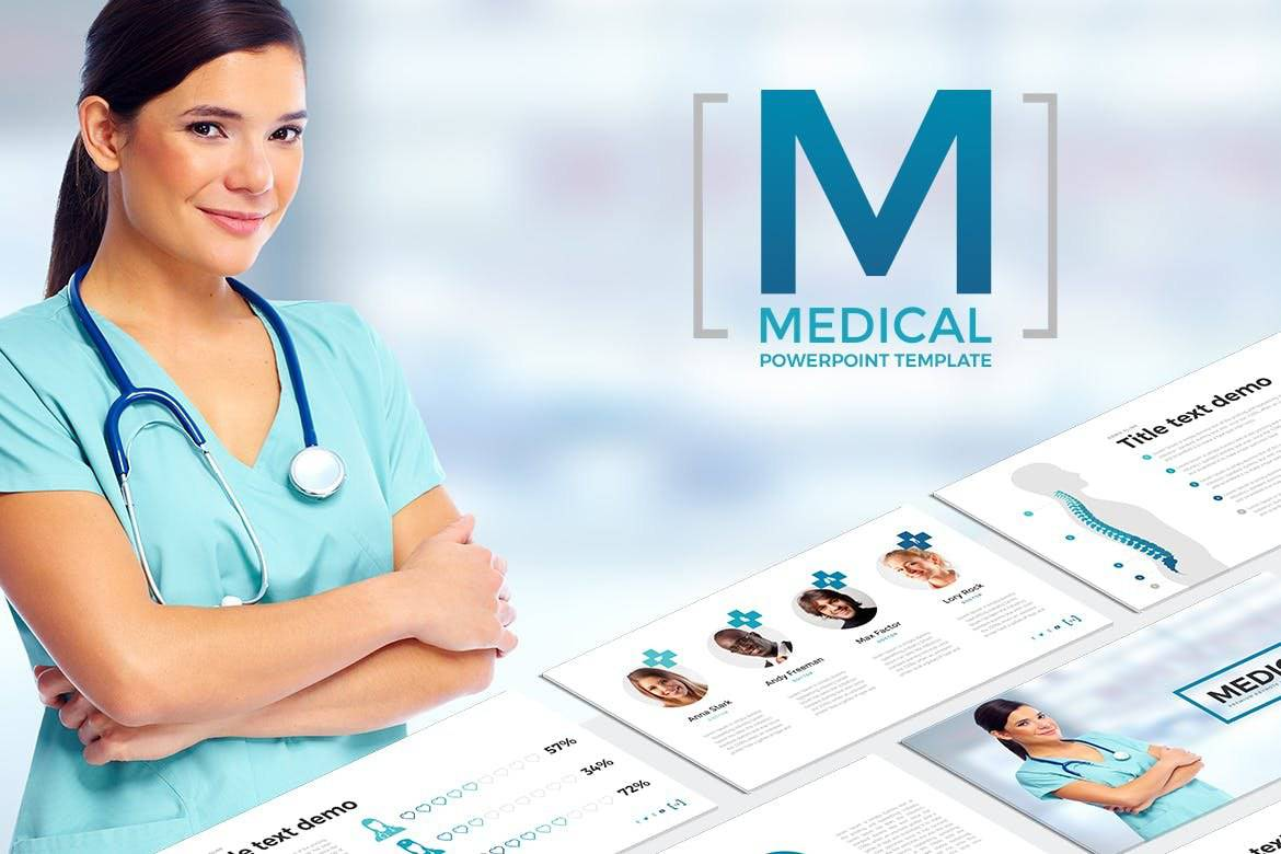 Medical - Minimal Medicine PowerPoint Template
