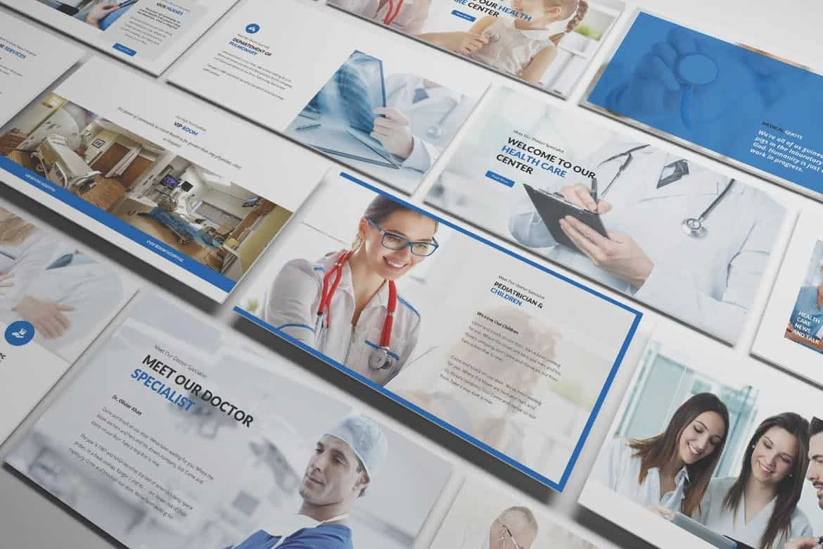 Medical and Health Care Powerpoint Template