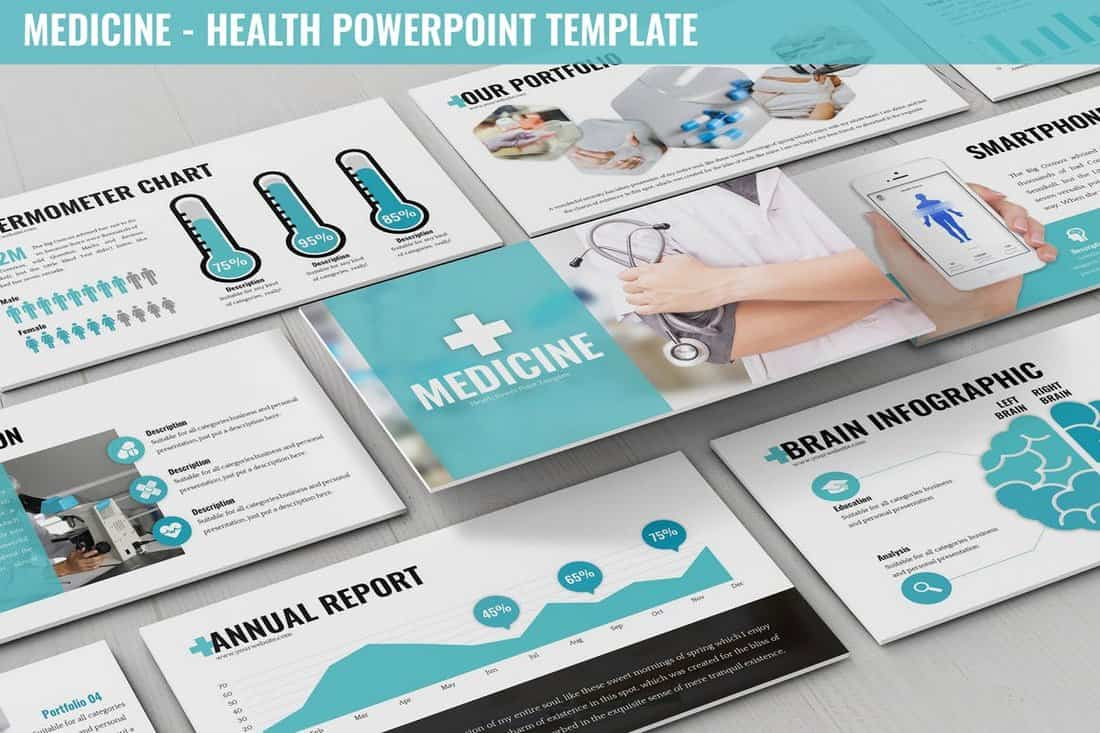 Medicine - Health Powerpoint Template