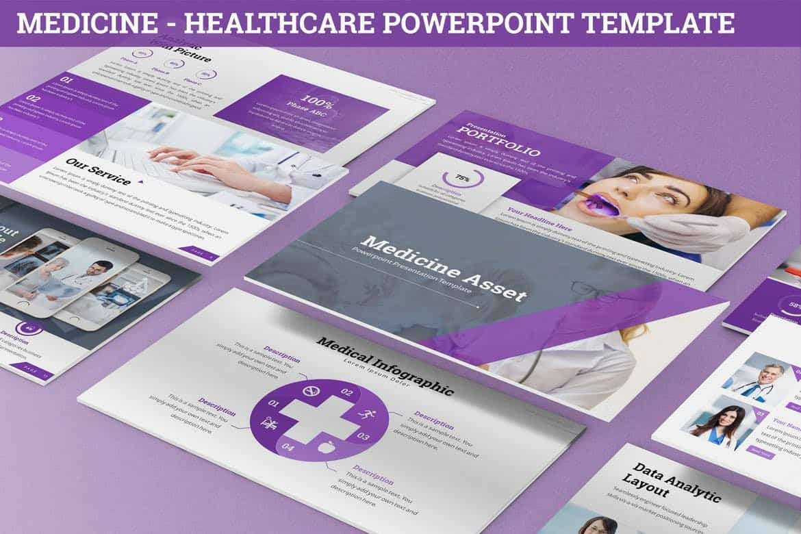 Medicine - Healthcare Powerpoint Template