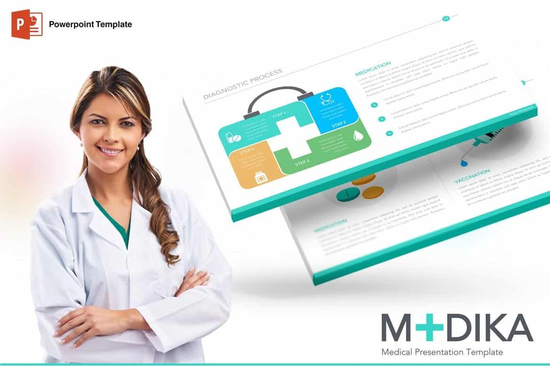Medika - Modern Powerpoint Template